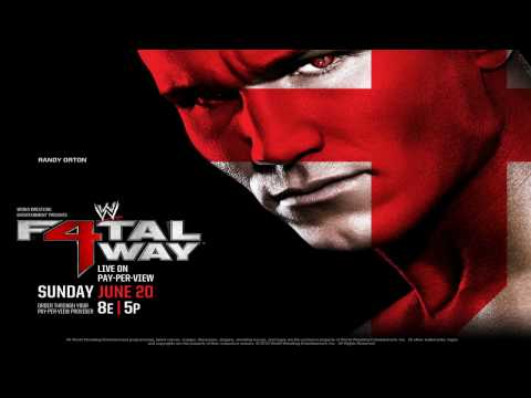 """WWE Fatal 4 Way Theme Song """"Showstopper"""" by Toby Mac"""