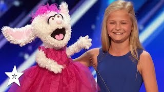 DARCI LYNEE Wins 1st GOLDEN BUZZER On America\'s Got Talent 2017!