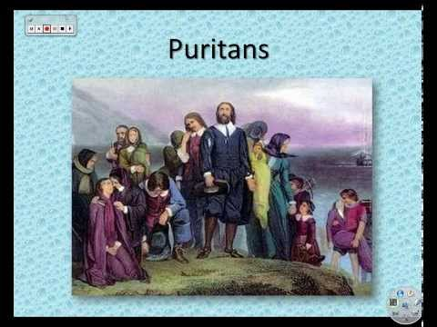 HIS 201 - Brief overview of the Puritans