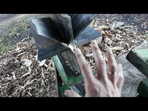 Гидравлический колун дров своими руками