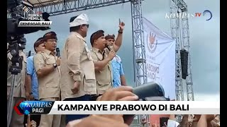 Prabowo Kritik Pemerintah yang Biarkan Kemiskinan, Pengangguran, dan Korupsi
