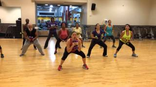 ZumbaToning with Erika La Nueva y la Ex by:Daddy Yankee