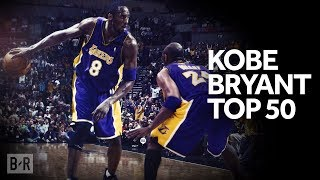 The Legend of Kobe Bryant - 20 Minutes of Kobe's TOP 50 NBA Highlights