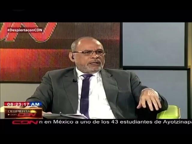 periodista Adolfo Salomón que aspira a la Junta Central Electoral Afirma no se le margina a nada