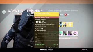 destiny new xur agent of the nine location exotic items 9 26 14