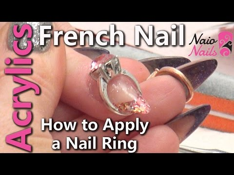 How to Apply a Nail Ring