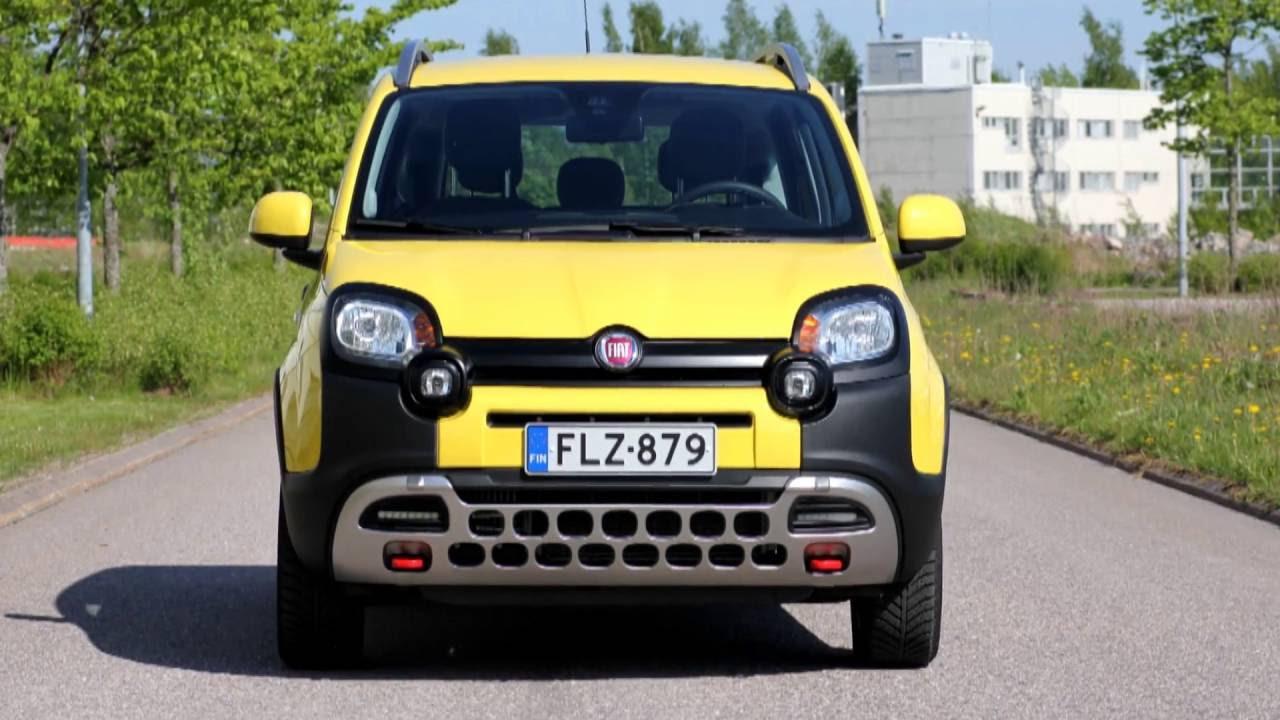 Fiat Panda 4x4 >> Koeajossa Fiat Panda Cross 4x4 Vuosimallia 2016