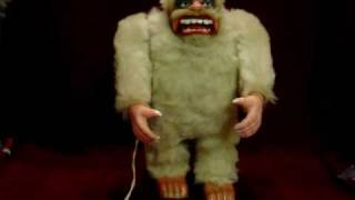 Marx Yeti Abominable Snowman Toy