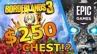 INSANE $250 Pre-Order Chest, Season Pass, & 6 Month Epic Exclusive! People Are ANGRY Borderlands 3
