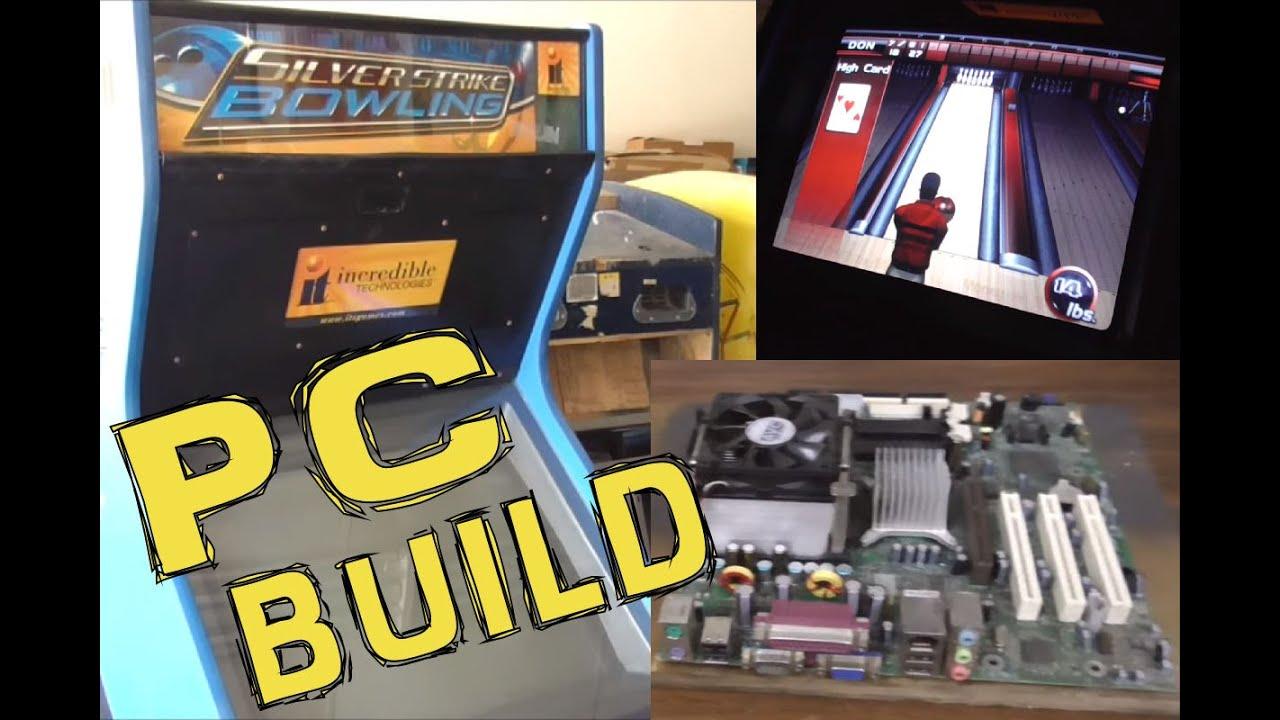 Building a Silver Strike Bowling Nighthawk Arcade Game PC Off The Shelf - VEGAS BOWLING