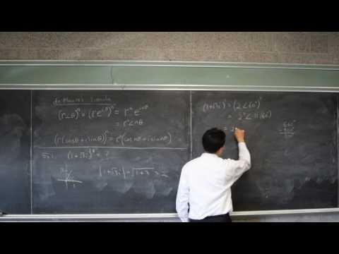 Complex Numbers De Moivre