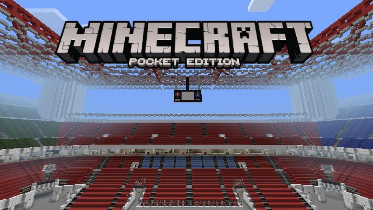 [mTenGamer] Minecraft PE | San Siro ( AC Milan Stadium ...