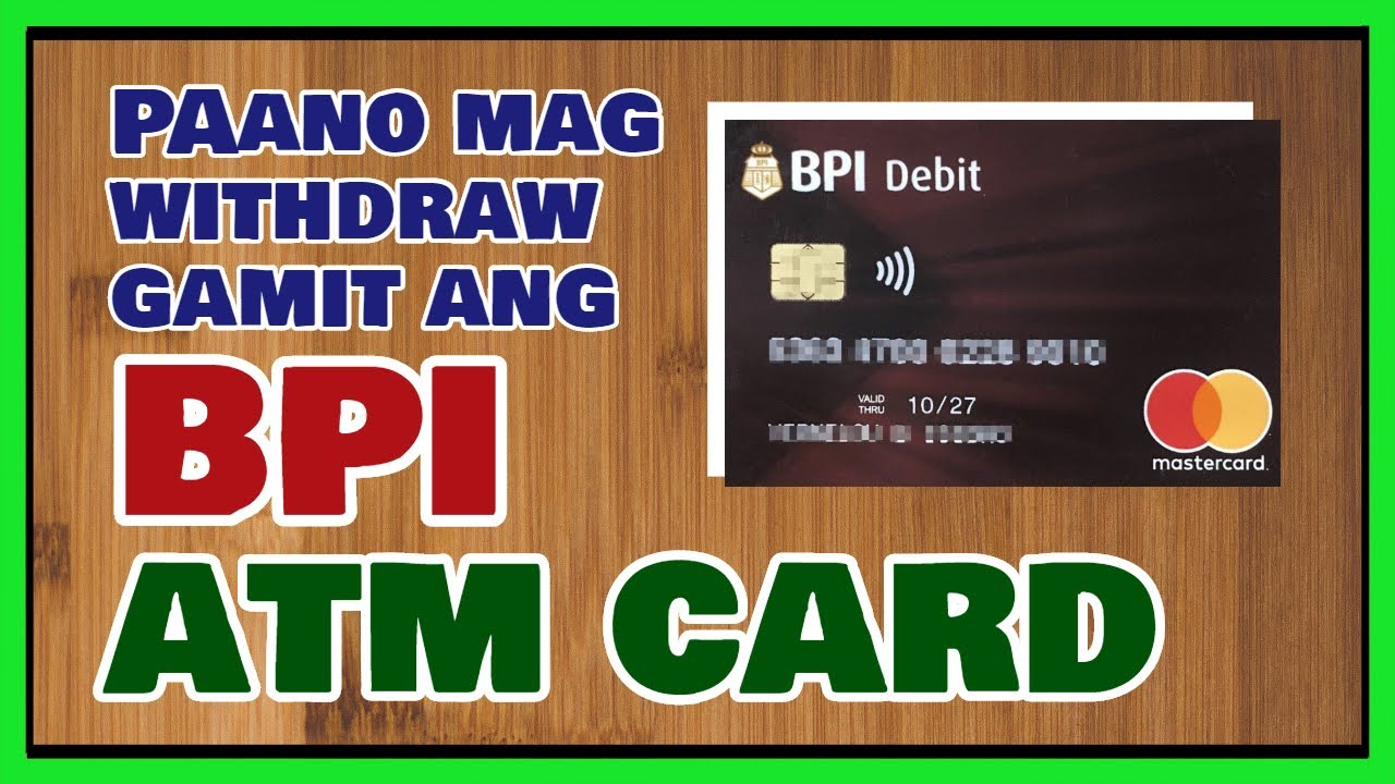 Bpi kaya savings card image