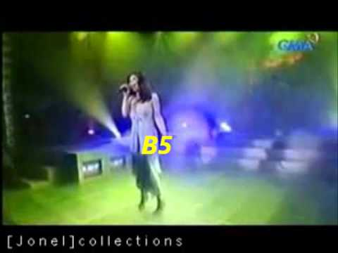 Regine Velasquez' Vocal Range (A2-B6) [Part 4 of 4 - High Notes (A5-B6)]