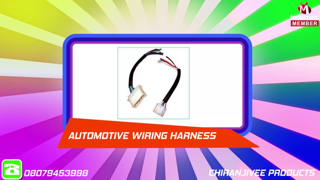 Wiring Harness Manufacturers In Coimbatore Solutions Delhi Wire Assemblies By Chiranjivee S