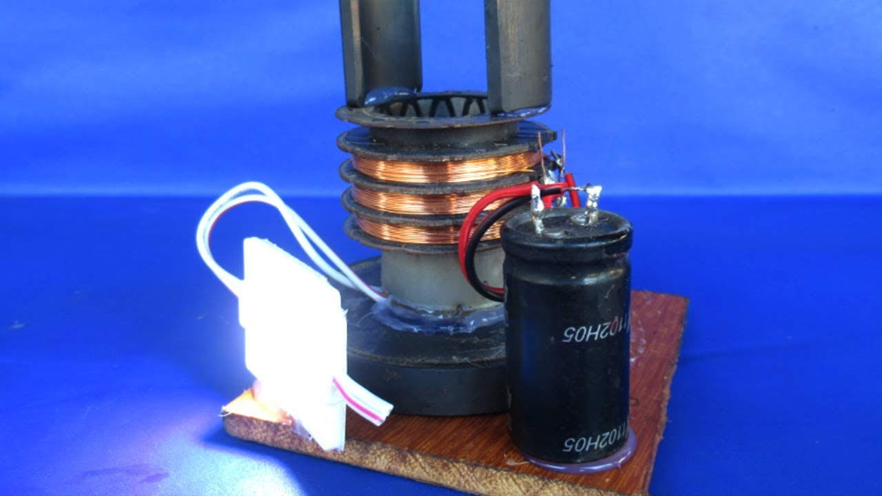 how to make free energy motor