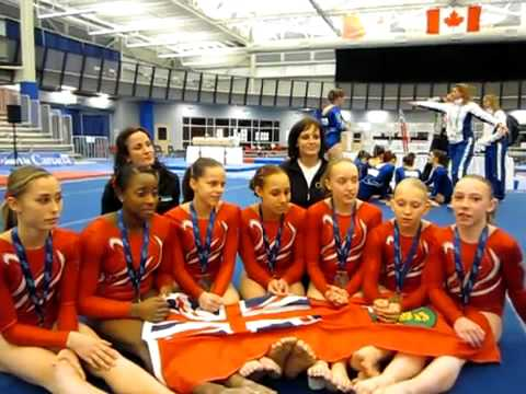 Interview with gymnastics team gold medal winner Ontario « Canada Games' Blog.flv