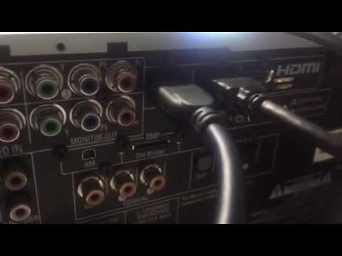 Harman Kardon avr 247 video problem - YouTube