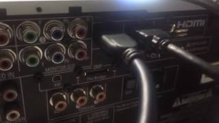 Harman Kardon avr 247 video problem