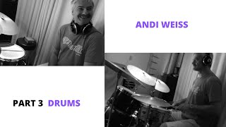 THE MAKING OF THE NEW JAZZ ALBUM - PART 3 - DRUMS