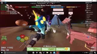 Roblox - Dino Sim Wars - La mayor guerra en Dino Sim