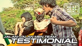 Jalan jalan Men Colaboration with Spheres (Indie Tokusatsu from Surabaya) + Testimonial
