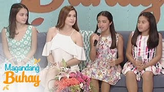 Magandang Buhay: Sunshine Cruz sings with her daughter