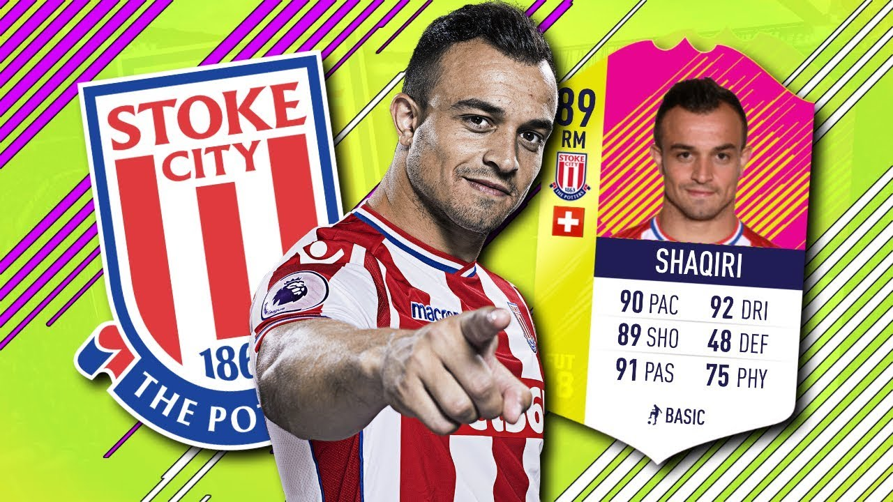 Team Of The Matchday Shaqiri Player Review Totmd 89 Shaqiri Fifa 18 Ultimate Team Youtube