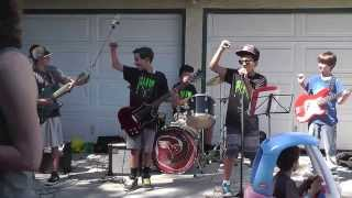 Slime - Hey Ho, Let's Go - Blitzkrieg Bop (by The Ramones)