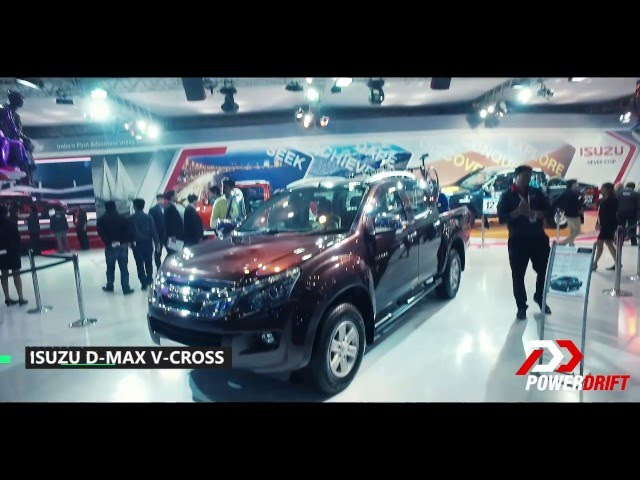 D Max Exhibition Models : Isuzu d max v cross price images review specs