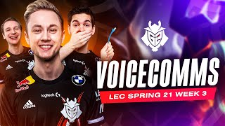 Good Job Miky, You Died | LEC Spring 2021 Week 3 Voicecomms