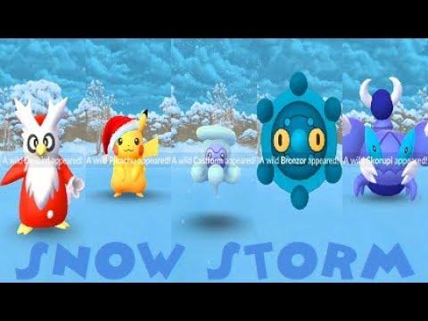 Pokemon Go Christmas Event.Pokemon Go Sinnoh 4th Gen Christmas Event