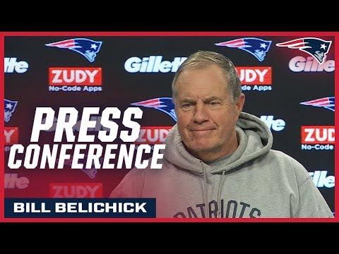 Patriots Postgame Press Conferences