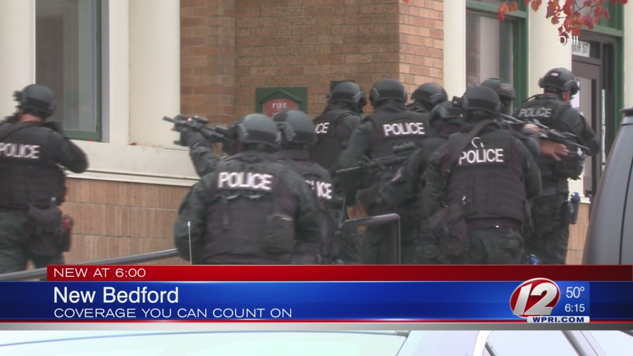 New Bedford police hold active-shooter training exercise