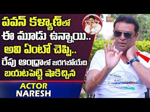 పవన్ కళ్యాణ్ లో ఈమూడు ఉన్నాయి  Actor Naresh About Janasena Pawan Kalyan   AP Politics   Telugu World