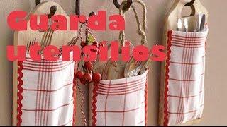 Artesanato para cozinha – Guarda utensílios – Artesanato minuto