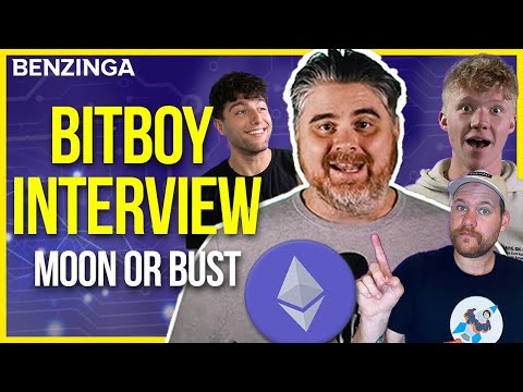BitBoy Interview   $4K Ethereum Incoming??   Moon or Bust 🚀