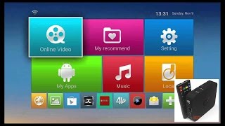 Installation Apk and m3u IPTV MXQ S805 Original