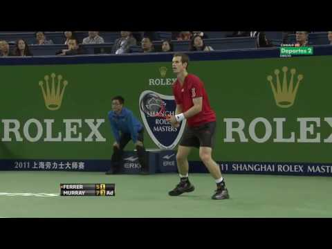 ATP Shanghai 2011 Final   Murray vs Ferrer HD