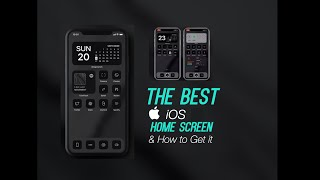 The Best iOS 14 Home Screen I have Seen | How to Install it