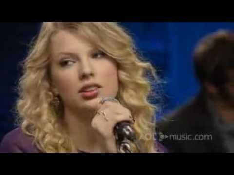 White Horse - Taylor Swift [ AOL Sessions ]
