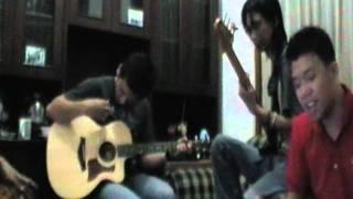 Cinta Jangan Kau Pergi. Cover Song(Bravo Band)