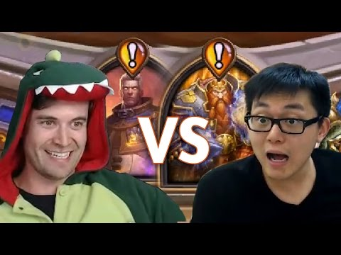 (Hearthstone) Kibler VS Amaz: Quest for Victory
