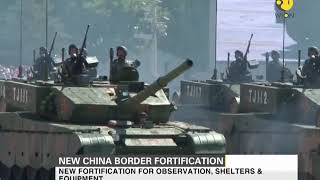 China deploys new fabricated fortification at the Indo-China border.