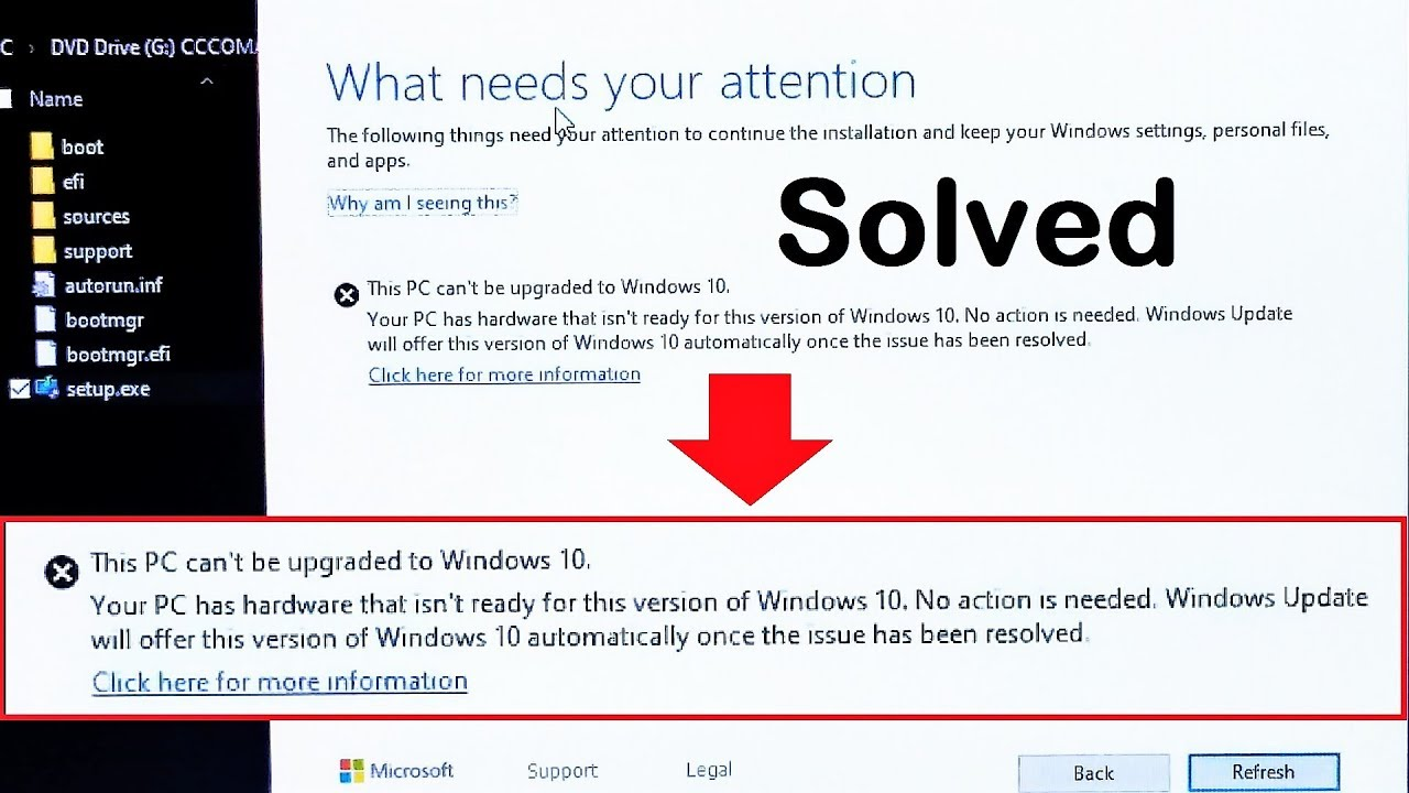 How to Fix This PC can't be upgraded to Windows 10 Version 1903, New  Upgrade Procedure(Step by Step)