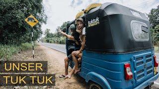 Mit UNSEREM TUK TUK durch SRI LANKA - Das Abenteuer beginnt!