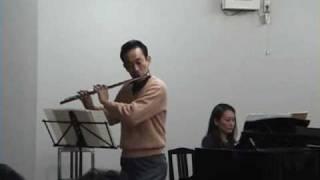 """フルート吹いてみた。Saint-Saens """"Romance"""" op.37"""