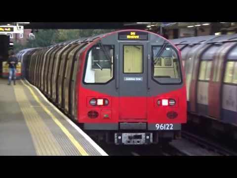 Jubilee & Metropolitan Lines Observations at Wembley Park 29 10 17
