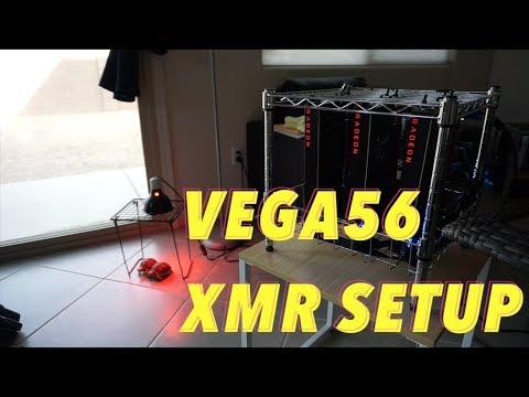 Monero RX Vega 56 Easy Setup! No Edits, No Bios Mod!