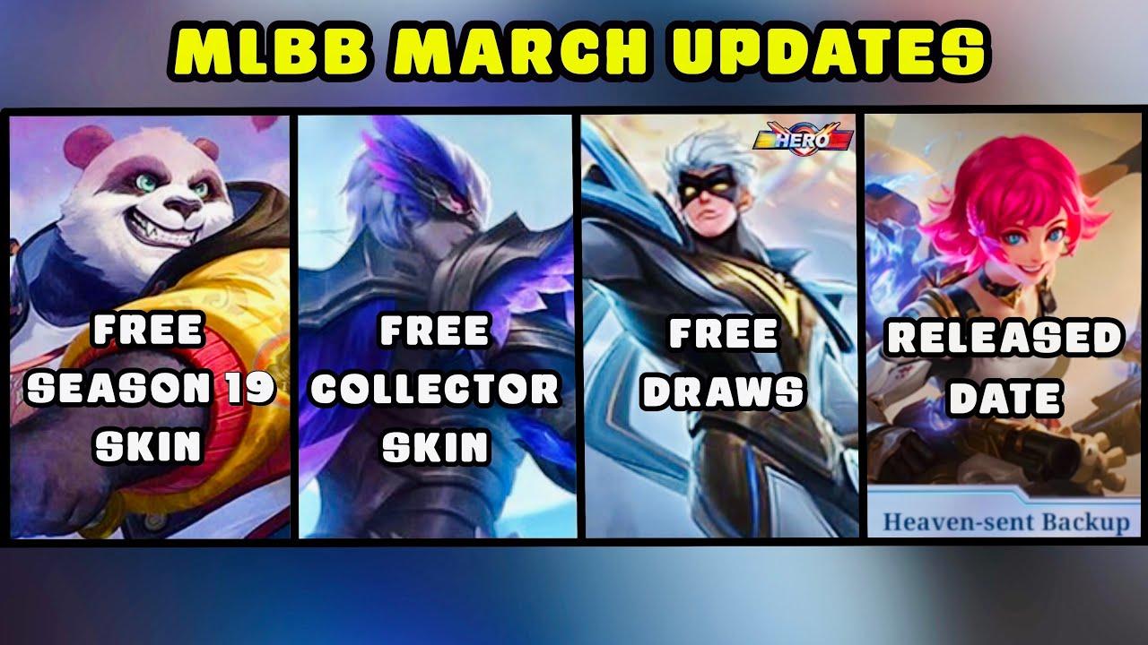 MLBB UPDATES | Gusion Collector Skin Night Owl, Vale Hero Skin Release Date & S19 FREE Skin - MLBB